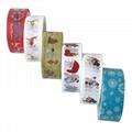 Wholesale custom printed assorted design washi tape decorative school stationery 4