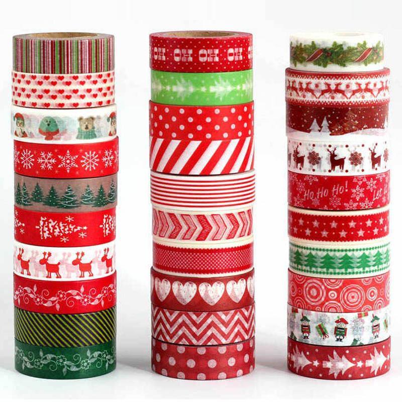 Wholesale custom printed assorted design washi tape decorative school stationery 5