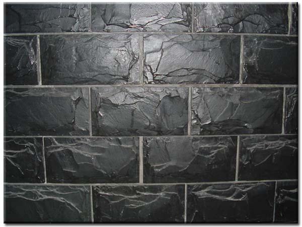 天然板岩文化石青石板組合板庭院外牆文化牆背景牆組合石板 1
