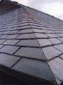 天然青石板瓦板 屋顶鱼鳞瓦片