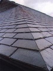 天然青石板瓦板 屋頂魚鱗瓦片 別墅復古防水瓦板隔熱瓦片