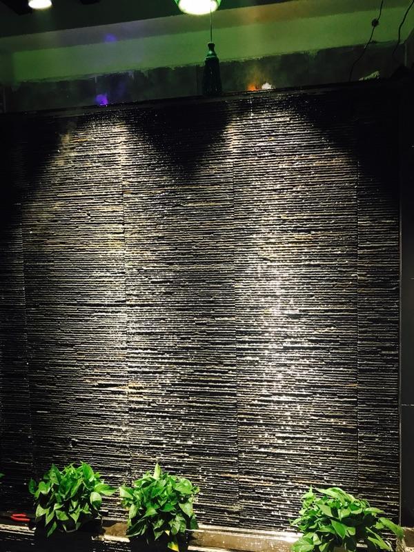 青石板板岩流水石文化石背景墙组合板风景墙 2