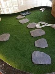 板岩青石板踏步庭院花园地砖耐磨青砖别墅广场防滑