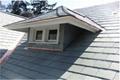 天然青石板瓦板 屋頂魚鱗瓦片 別墅復古防水瓦板隔熱瓦片 2