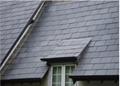 天然青石板瓦板 屋頂魚鱗瓦片 別墅復古防水瓦板隔熱瓦片 3