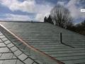 天然青石板瓦板 屋頂魚鱗瓦片 別墅復古防水瓦板隔熱瓦片 4