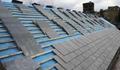 天然青石板瓦板 屋頂魚鱗瓦片 別墅復古防水瓦板隔熱瓦片 5