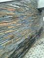不規則亂邊毛邊條石材 天然板岩文化青石板 亂條庭院花園花池壁爐 3