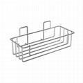 Wintok Amazon supplier European style metal bathroom basket shower caddy sponge  1