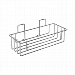 Wintok Amazon supplier European style metal bathroom basket shower caddy sponge