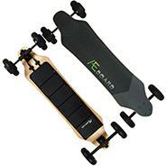 All Terrain Electric Skateboard 39 Inch AEBOARD AT2  Flex battery