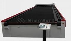 X-Long Table Laser Cutting Machine printing sportswear laser cutting machine MIM