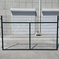 High-speed railway protective fence