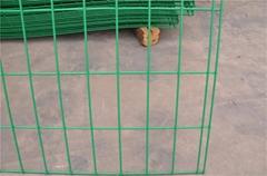 双边丝公路护栏网 公路隔离栅双边丝护栏