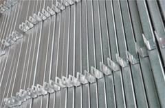 高鐵橋下防護柵欄金屬網片 電焊浸塑綠網