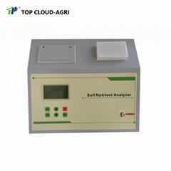 TPY-6A Soil Nutrient Meter for testing soil NPK PH Salinity