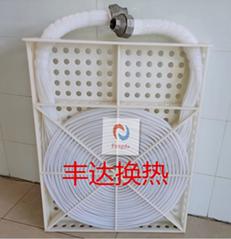 定製鐵氟龍管式換熱器  聚四氟乙烯熱交換器