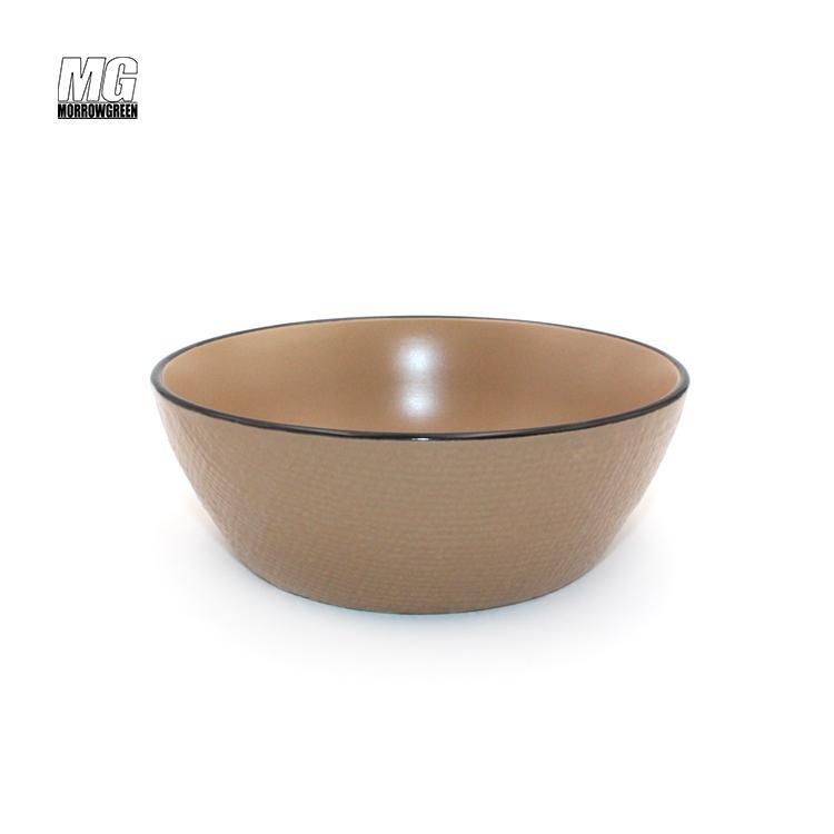 ceramic stoneware color glaze dinnerware set 4