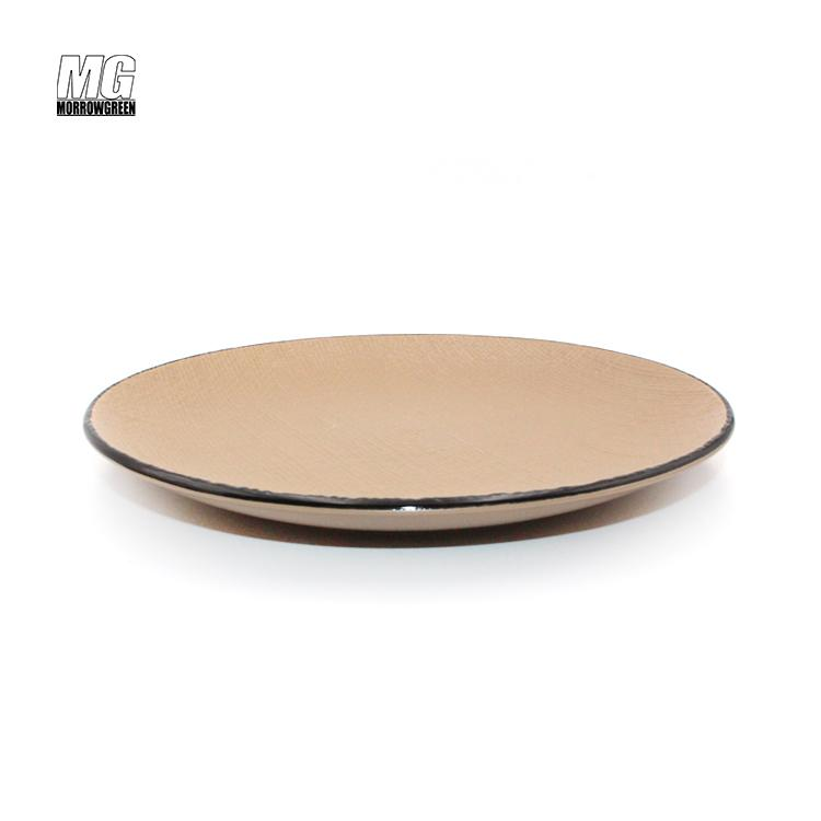ceramic stoneware color glaze dinnerware set 5
