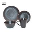 ceramic stoneware color glaze dinnerware set 2