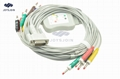 Philips EKG Cable with Leadwires and AHA