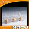 Customized wholesale refrigerator crisper egg packaging container clamshell box  3