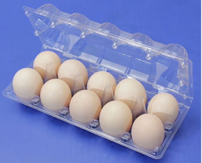 Customized wholesale refrigerator crisper egg packaging container clamshell box  4
