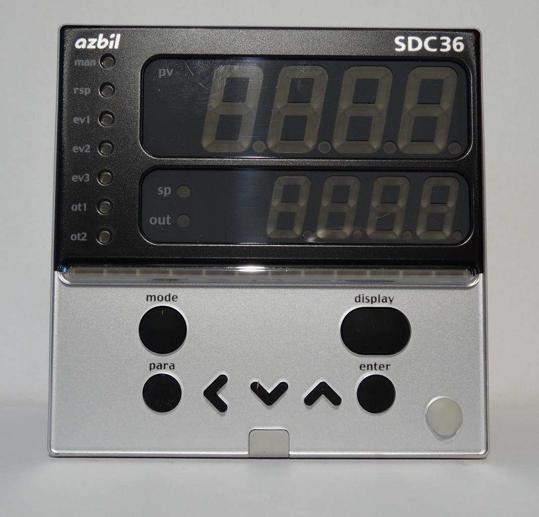 山武温控器 azbil C36TR1UA1200 数字调节器 SDC36系列 1
