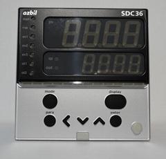 山武温控器 azbil C36TR1UA1200 数字调节器 SDC36系列