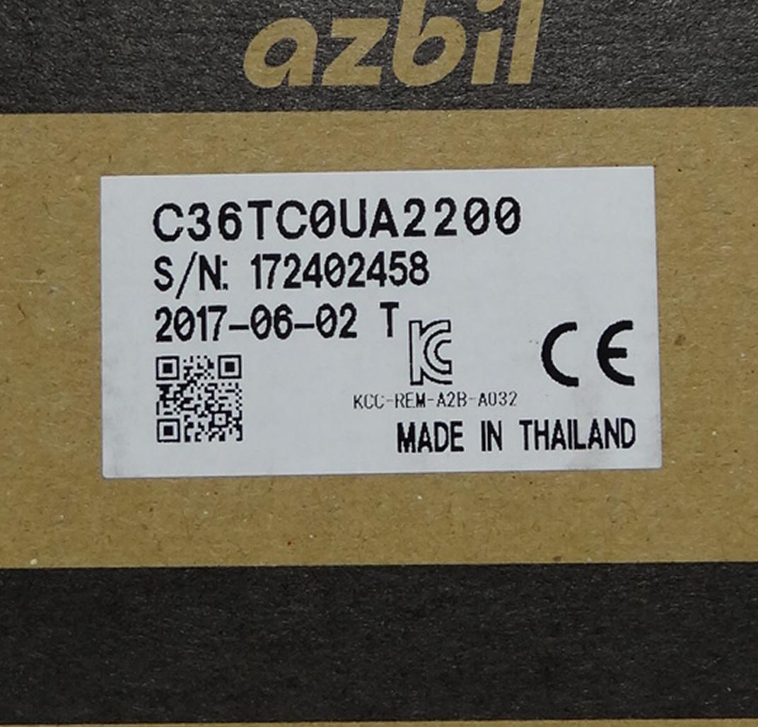 山武温控器 azbil C36TR1UA1200 数字调节器 SDC36系列 4