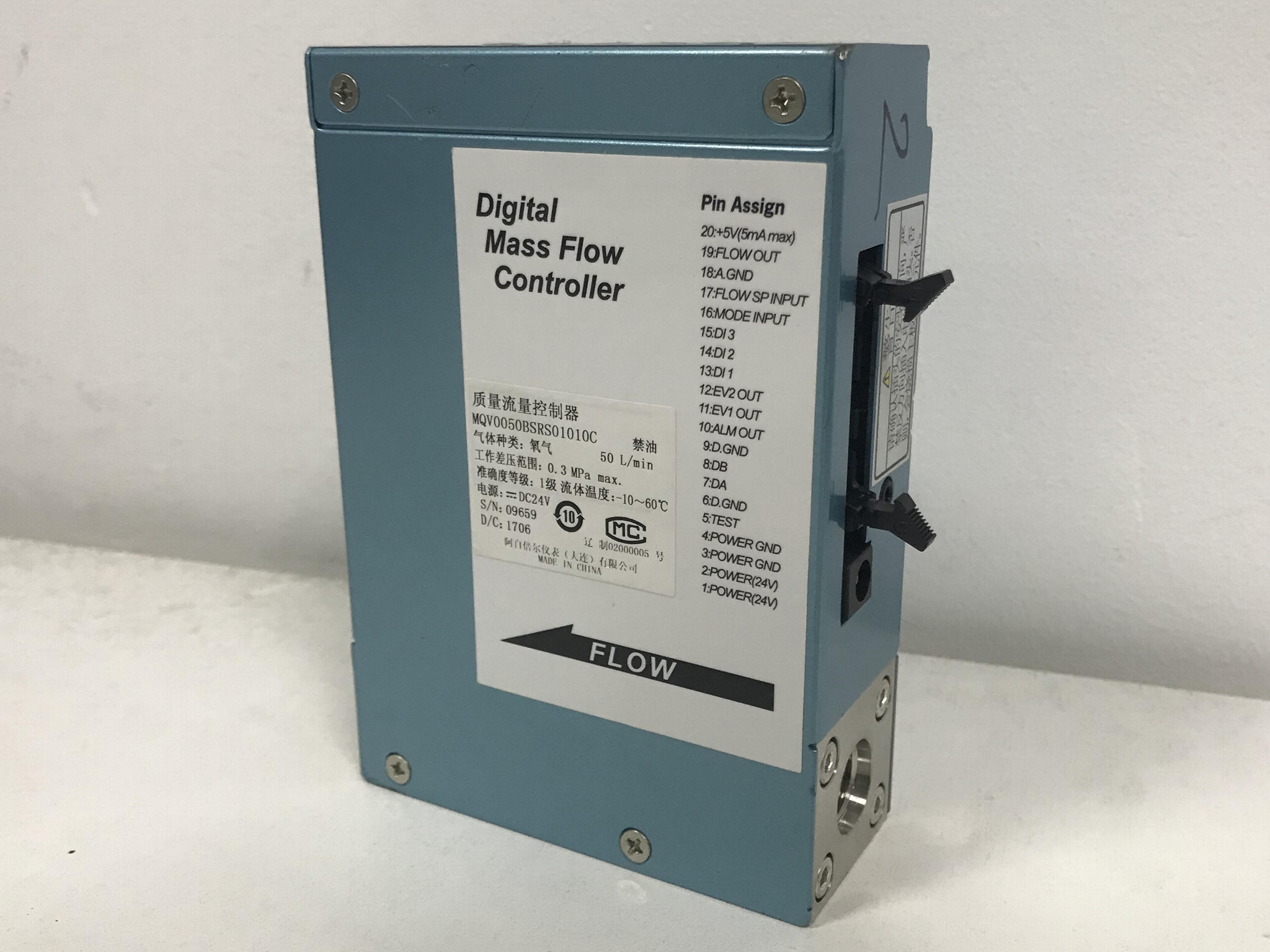 山武流量計 azbil 氣體質量流量控制器 MQV0050BSSN01010C 2