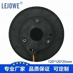 China Supplier High Quality Sale Circular Purifier Centrifugal Fan 120*120*25mm