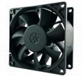 220VDC EC fan with energy saving high