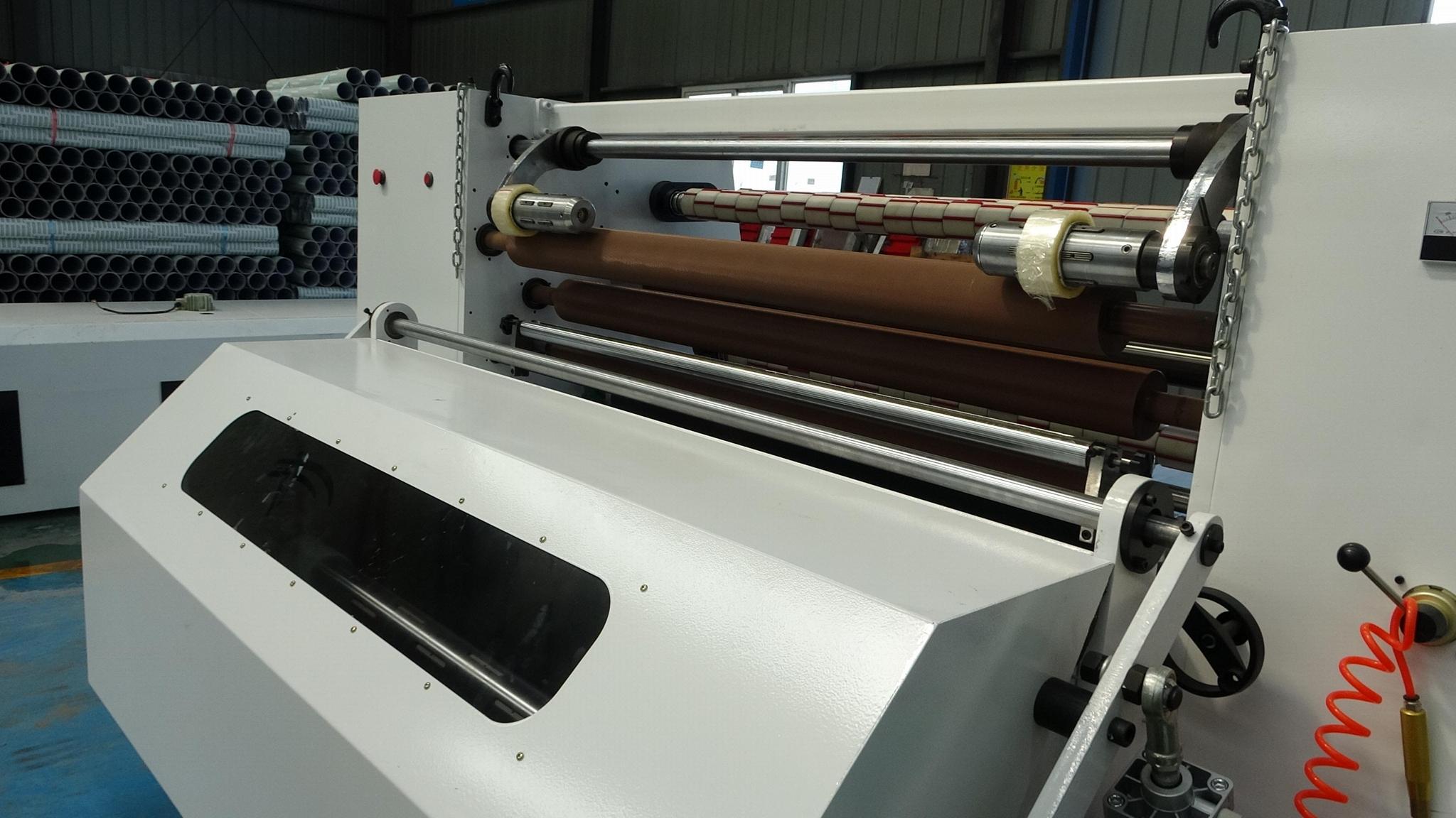 GL-213 Automatic machinery labeling noise reduce  big bopp jumbo roll slitter 3
