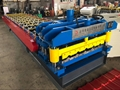 Glazed roof tile roll forming machine with good price