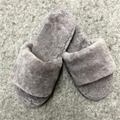 Fashionable High Quality fur wool slippers cotton slippers wool felt shoes - sli 1