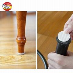 E1F20 wholesale floor protector felt pads for furniture chair legs bulk self adh