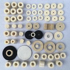 Wool felt ring & Wool felt gaskets & Wool felt washer for sealing from China man
