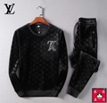 LOUIS VUITTON Men's Ms Leisure Sport suits clothes clothing AAA quality