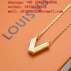 NEW LOUIS VUITTON necklace LV necklace LV neck Amule Mbox LV pendant wholesale