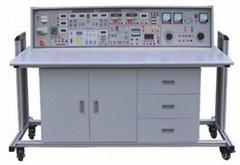 高級電工模電數電電力拖動帶直流電機實驗設備