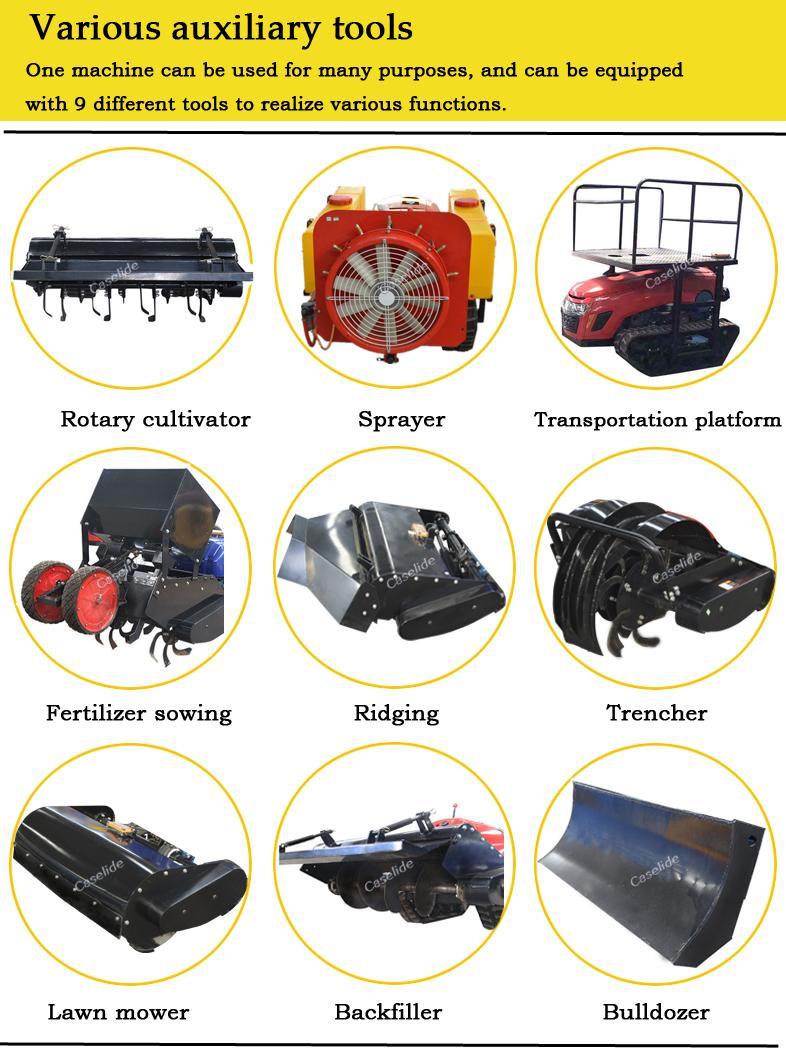 remote control Automatic Intelligent Robotic Lawn Mower 2