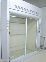 实验室步入式通风柜防酸碱落地式通风厨