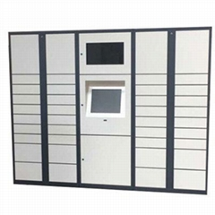 Parcel locker from China with roof UNI-SL002 H1980*W1000*D500mm metal cabinet