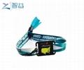 Festival Event Access Control Wove NFC Bracelet Mifare Wristband 5