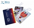 China Supplier Wholesale Custom Printed Hotel Hard Plastic PVC L   age Tag with