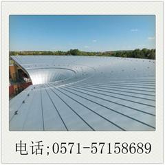 鈦鋅板德鋅YX25-430別墅酒店屋面板