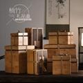 厂家定制木质包装盒胡桃木盒竹木盒收纳盒 3