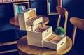 厂家直销零食收纳盒定制六角木盒