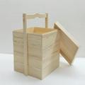 中式食盒定制手提木盒实木多层收纳盒 3